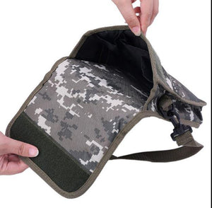 New Metal Detector Bag Camo Oxford Waist Shoulder Belt Pouch Good Luck Gold Nugget Bags For Metal Detecting qiang
