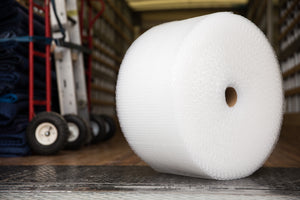 "Bubble Wrap Roll (Small Bubble, 300' x 12"")"