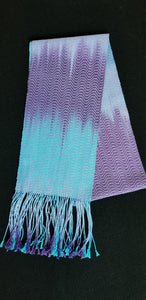 Cotton dyed scarf