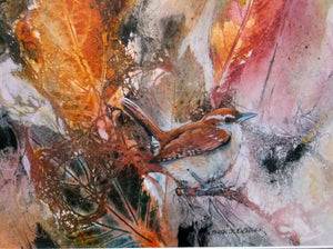 """Autumn Carolina Wren"""