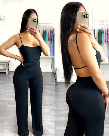 Heavenly Jumpsuit (Black)