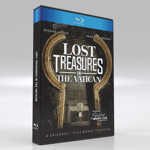 """Lost Treasures in The Vatican"" with Michael Rood and Nehemia Gordon"