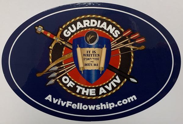 "'Guardians of the Aviv' Stickers (6""x4"")"