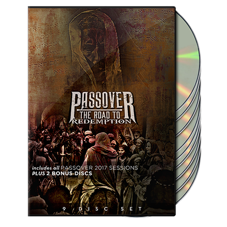 Passover: The Road to Redemption (9-disc set)