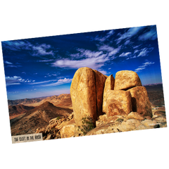 "Mt. Sinai Poster - ""The Cleft in the Rock"" (24x36)"