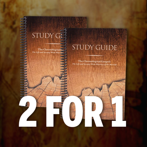 The Chronological Gospels Study Guide - BUY ONE GIVE ONE (July 2020)