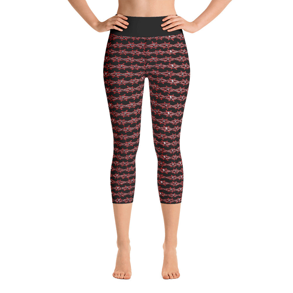 Barbed Wire Yoga Capris