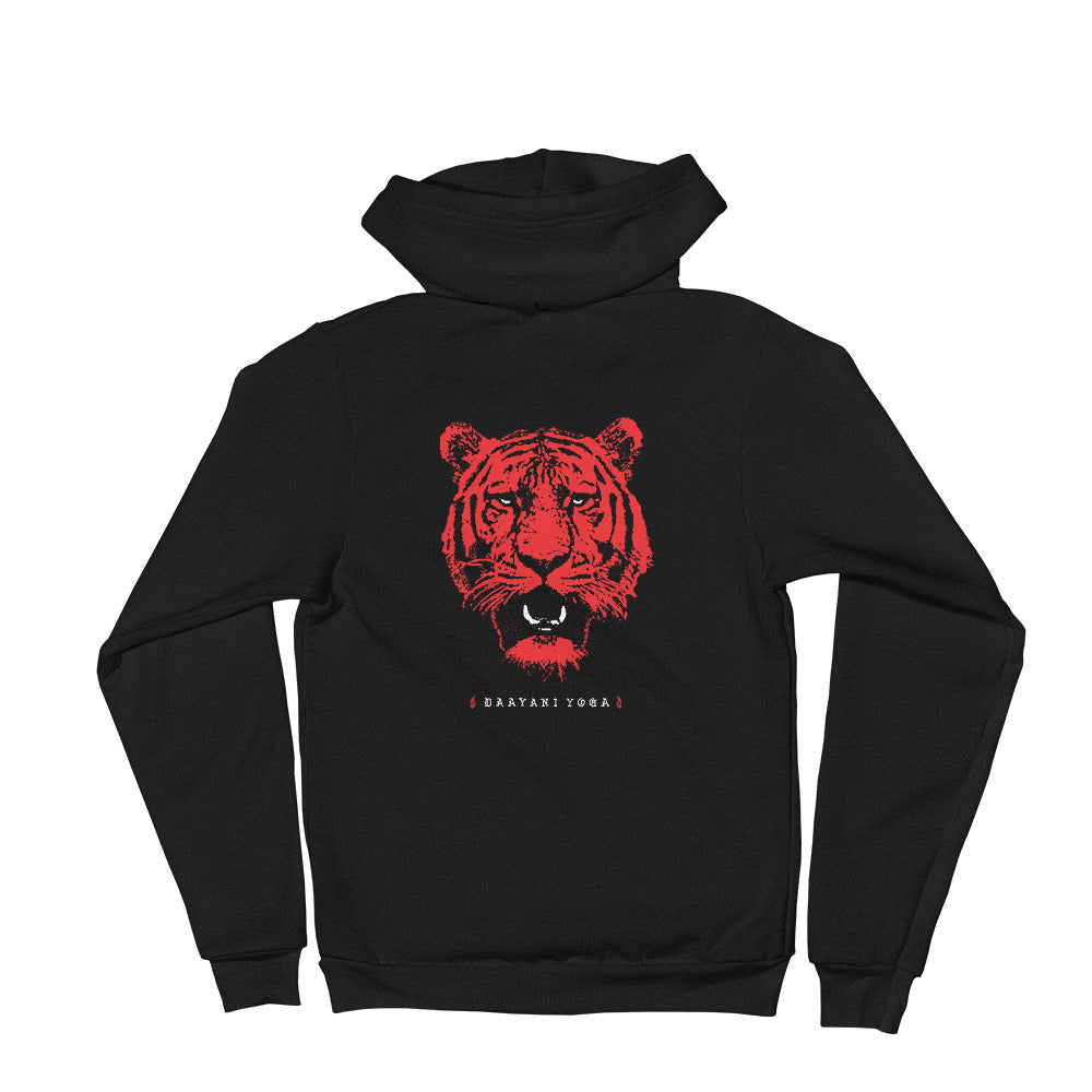 Tiger Queen Zip-Up Hoodie