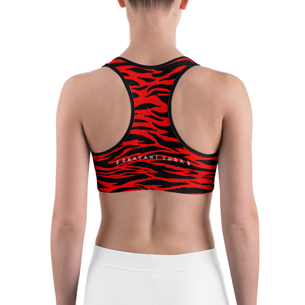 Tiger Queen Sports Bra