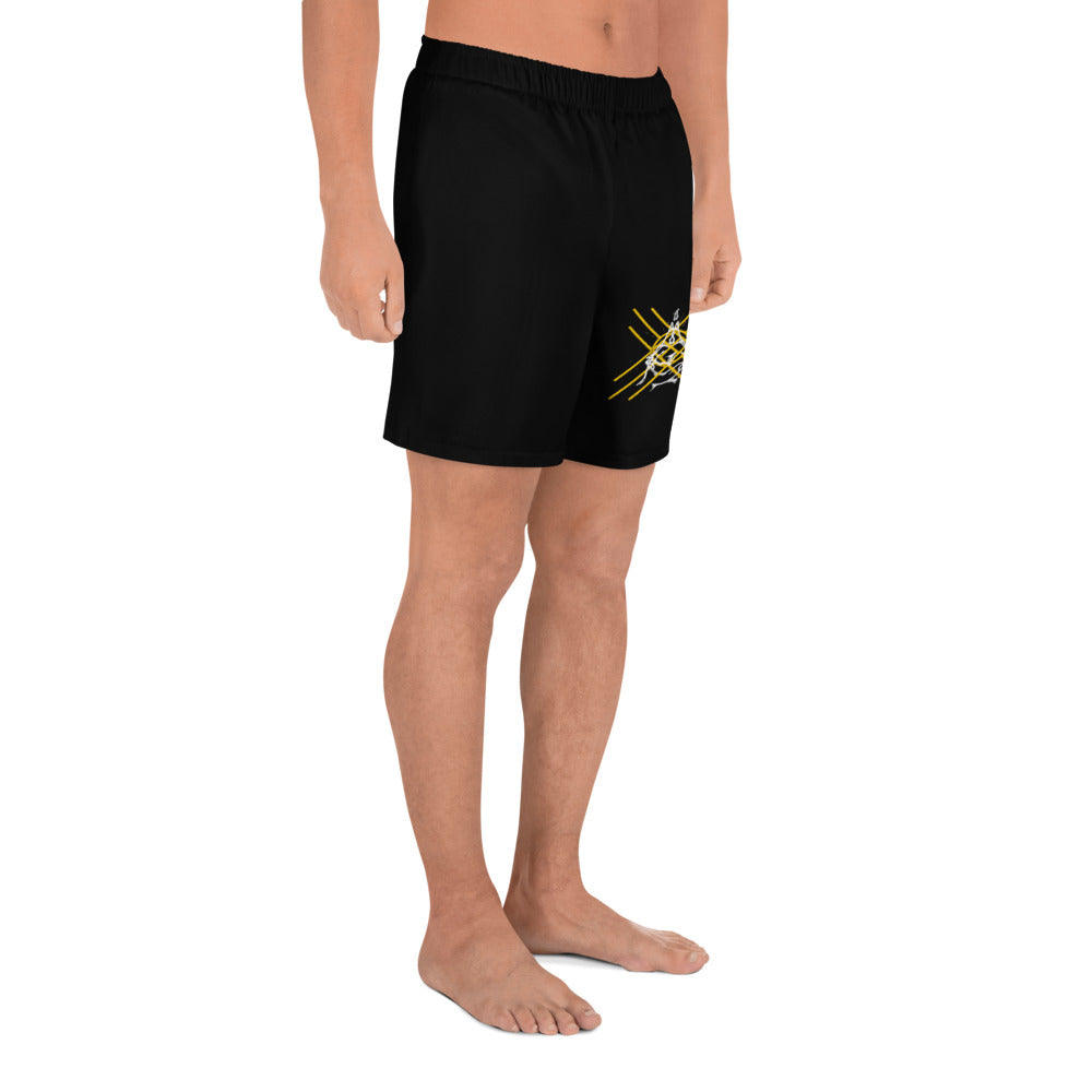 Moon Tooth Crux & Mudra Men's Athletic Long Shorts