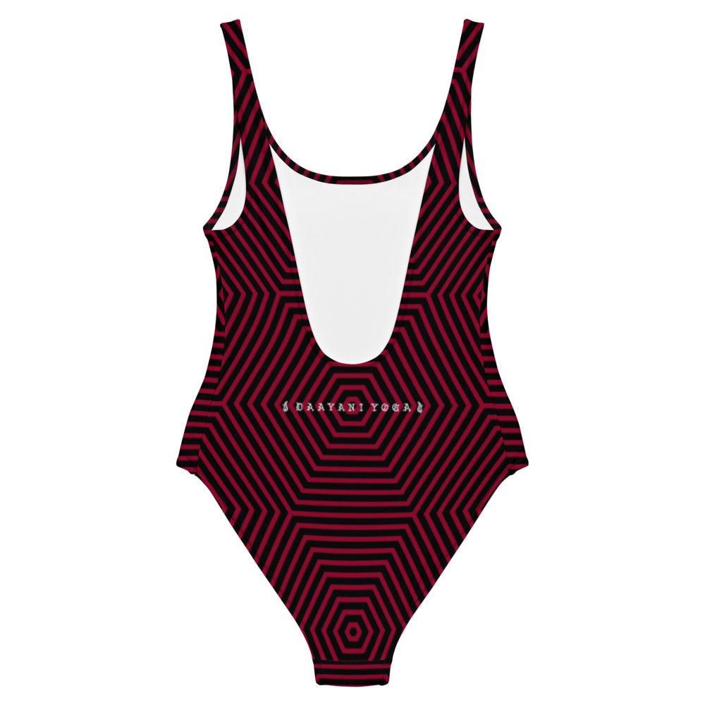 As Above So Below One-Piece Swimsuit