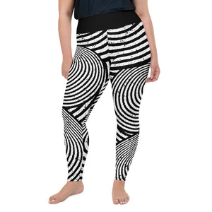 Strange Dimension Plus Size Leggings