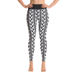 Third Eye Skull Yoga Pants