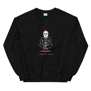 """The Slasher"" Horror Yogi Unisex Crewneck"