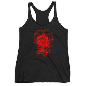 Skull & Incense Racer Tank *Charitable Item*