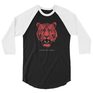 Tiger Queen Raglan