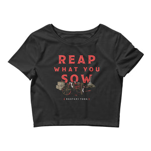 Reap What You Sow Original Crop Top