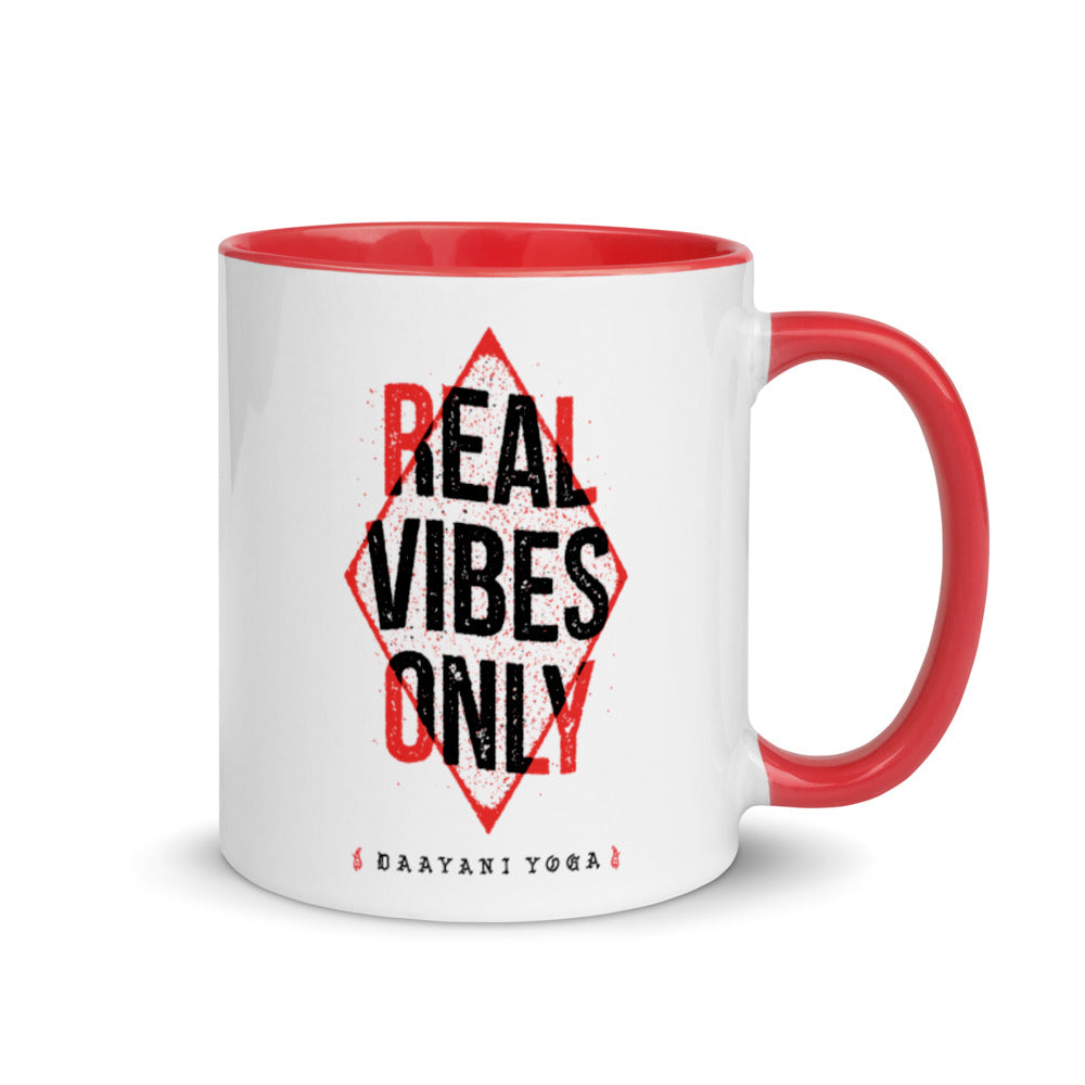 Real Vibes Only Mug