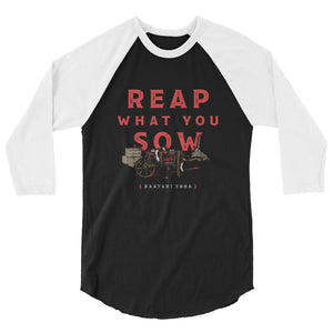 Reap What You Sow Raglan
