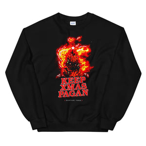 Keep Xmas Pagan Crewneck