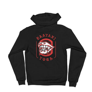 Fangs Flash Zip-Up Hoodie