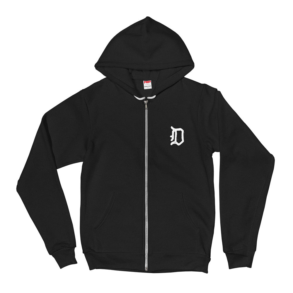 Plague Doctor Zip-Up Hoodie