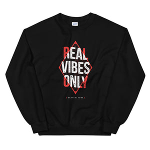 Real Vibes Only Crewneck