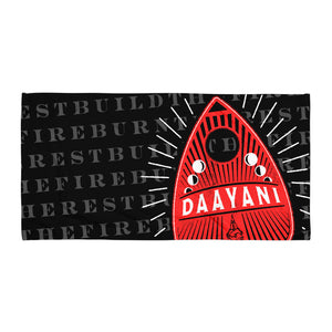 Planchette Beach Towel