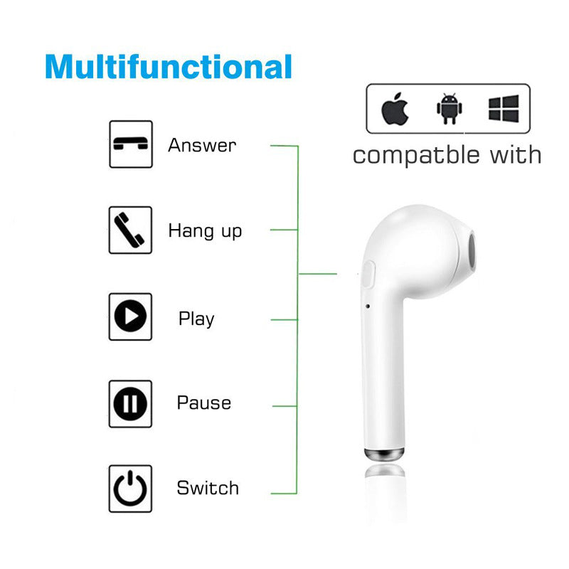 Wireless 5.0 Bluetooth Ear Pod Sport Headset