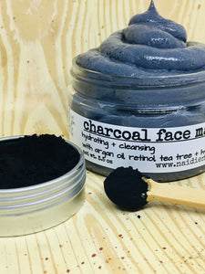 Activated Charcoal & Tea Tree Face Mask - Sold Out - naidié nezų