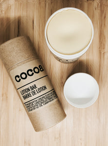 cocoa aloe lotion bar - naidié nezų