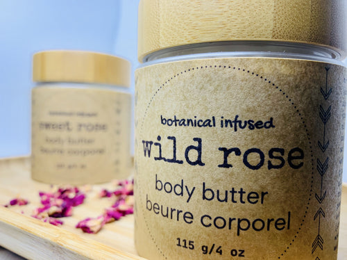 Wild Rose Body Butter - naidié nezų