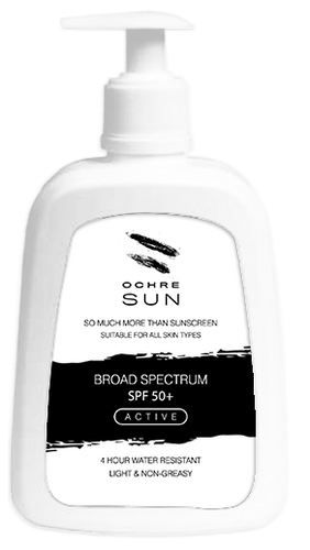 OCHRE SUN SPF 50+ SUNSCREEN 500ML PUMP