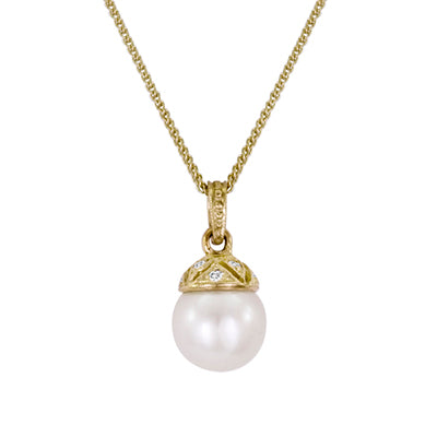 Pearl Pendant 3008 Pend PA 18KY