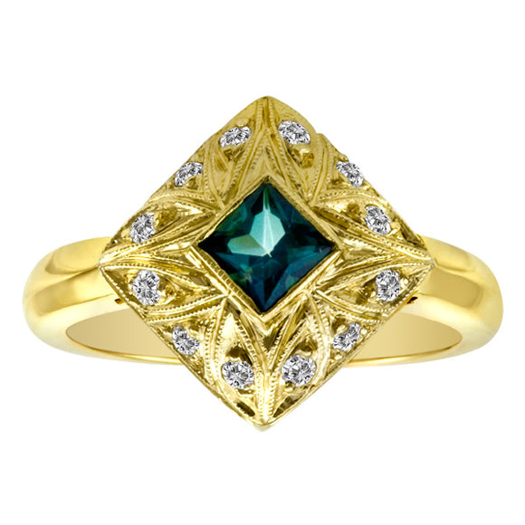 Gemstone Ring 3018 Ring ETP 18KY