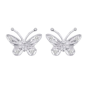 Diamond Earrings 306 Ear 14KW