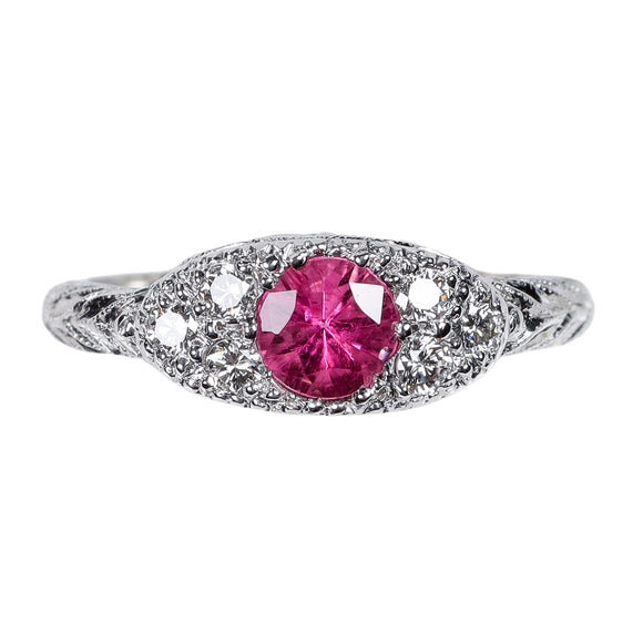 Gemstone Ring 4396 RD PT