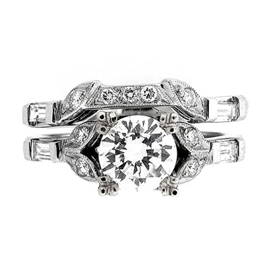 Bridal Ring 9012 Set 18KW