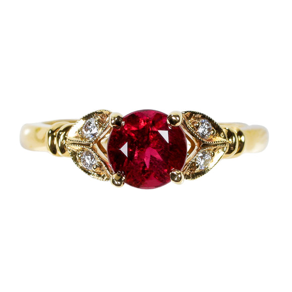 Gemstone Ring 9014 RD PT