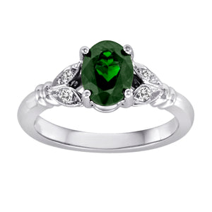 Gemstone Ring 9014 OV CT 14KW