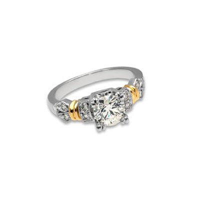 Bridal Ring 9036 18KTT