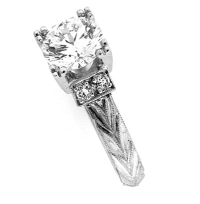 Bridal Ring 9037AHE PLT