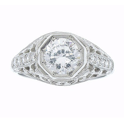 Diamond Ring 9088 D 18KW