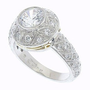 Diamond Ring 9092 D 18K TT