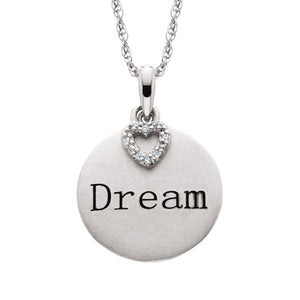 Silver Pendant Dream