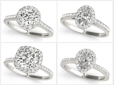 Bridal Ring Halo Collection