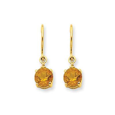 Gemstone Earrings SS781829 Ear CIT 14KY