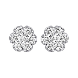 Diamond Earrings SS78319 Ear 14KW