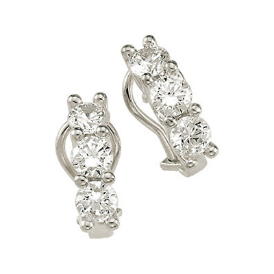 Silver Earrings SS7863660 Ear WCZ