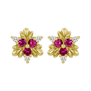 Gemstone Earrings SS7880142 Ear PKS D